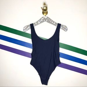 NEW Aerie low back cheeky one piece swimsuit